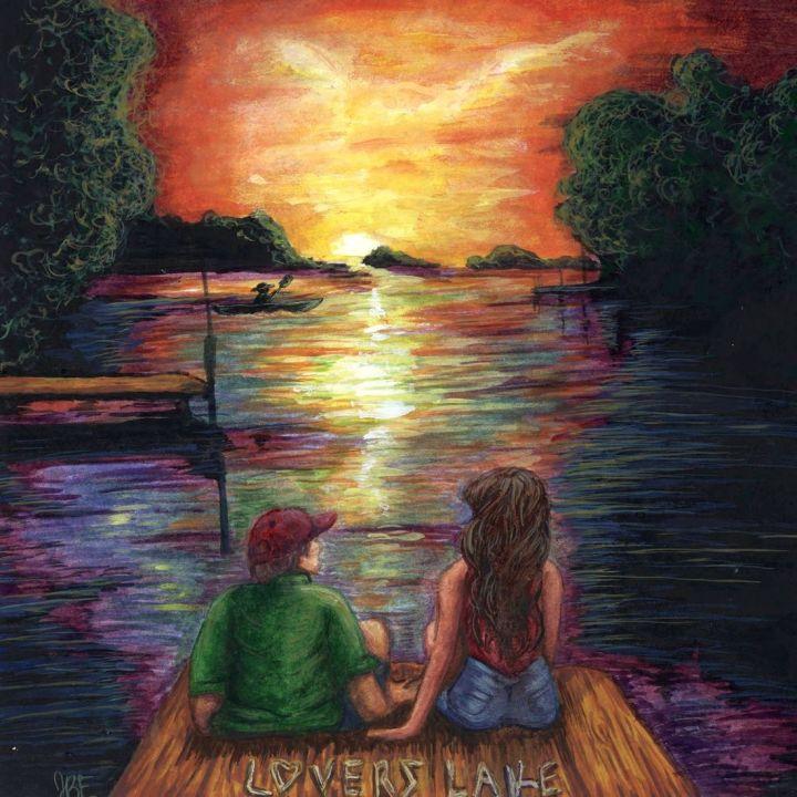 Lovers Lake EP record artwork